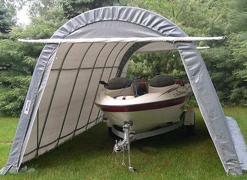 Aluminum Boat Shelters : Schoodic enterprises aluminum boat lifts and dock sales